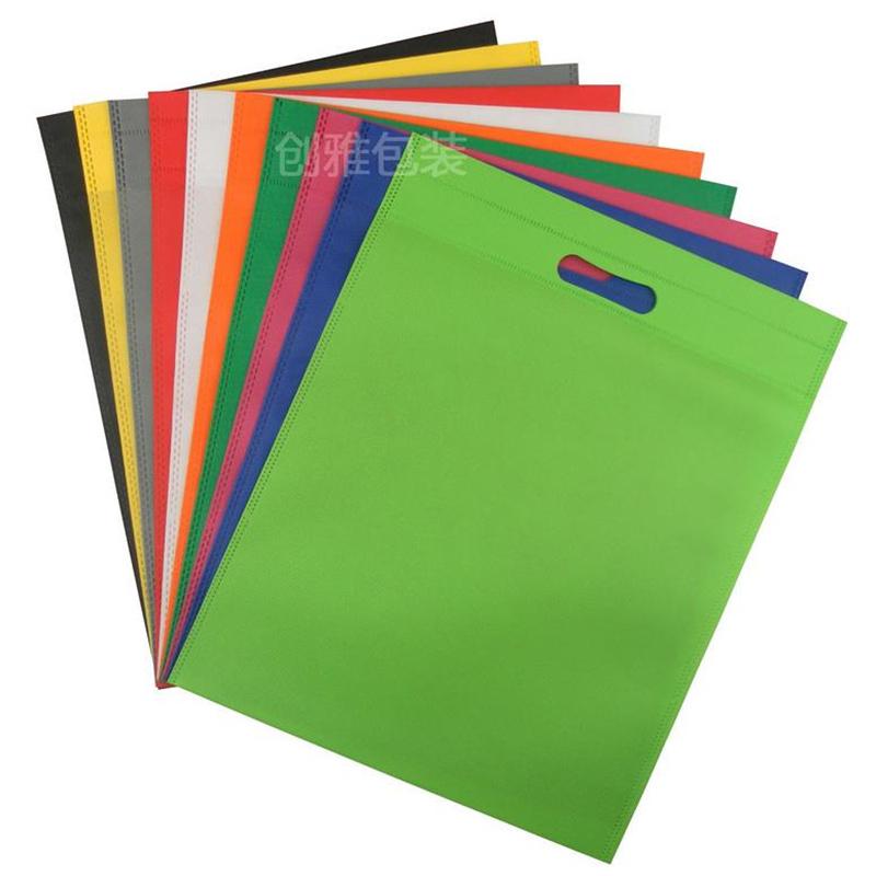 100pcs/lot High quality non woven shopping bag logo shoes travel bag storage bags shoe packing bags(China (Mainland))