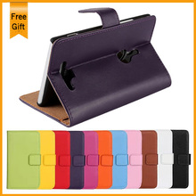 Luxury Genuine Leather Filp Case For Nokia Lumia 925 Vintage Wallet Style original mobile Phone Cover With Stand Card Holders(China (Mainland))
