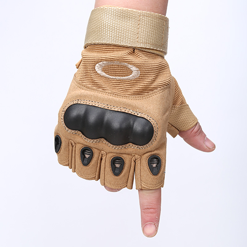 guantes gym tactical gloves for fitness men sports gloves half finger army climbing bicycle tactical military fingerless gloves(China (Mainland))