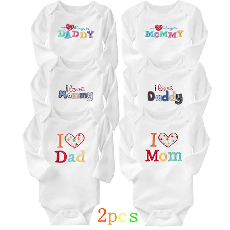 Bodys para bebé 2pcs 100% algodon verano recien nacido Carters niña niño ropa de manga