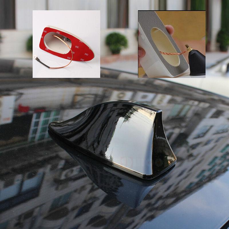 auto haaienvin antenne met lege radio signaal voor renault clio megane laguna koleos auto. Black Bedroom Furniture Sets. Home Design Ideas