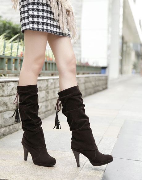 2013 winter fashion boots, high boots, Martin boots, knee boots, sexy shoes, 2 colors Black Brown<br><br>Aliexpress