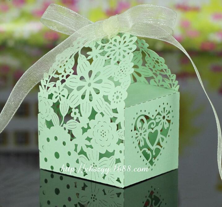 Free Shipping 100PCS/LOT Sugar Box Holiday Supplies Home Decor Festive Party Supplier Candy Box Wedding Decoration(China (Mainland))