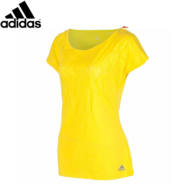 100% Original Adidas Women Summer Sport Causal Breathable Knitted Cotton T Shirt High Quality Short Sleeve Z27580 Free Shipping(China (Mainland))