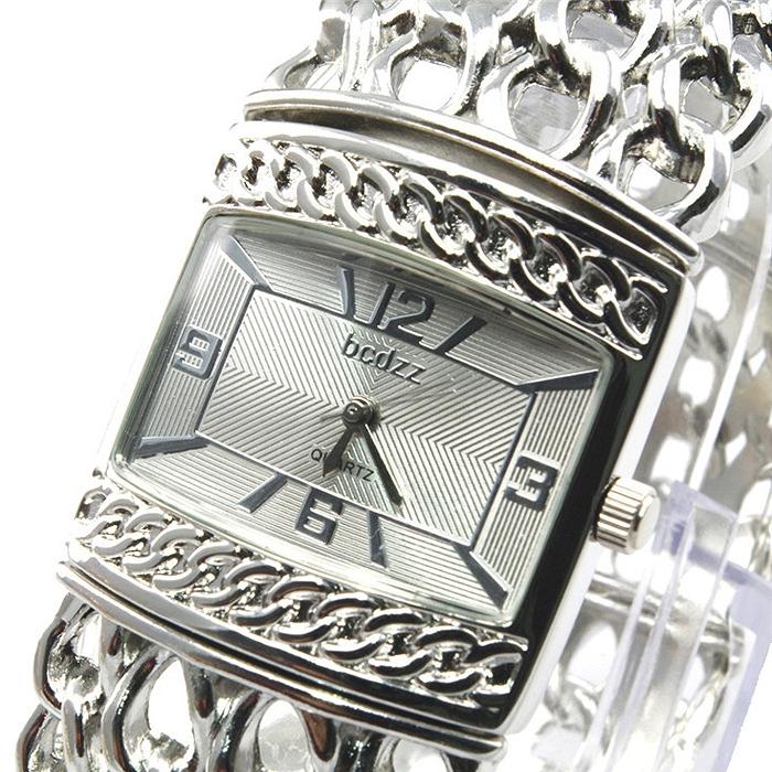 Womens Watches Silver Tone Elegance Women′s Silver Tone