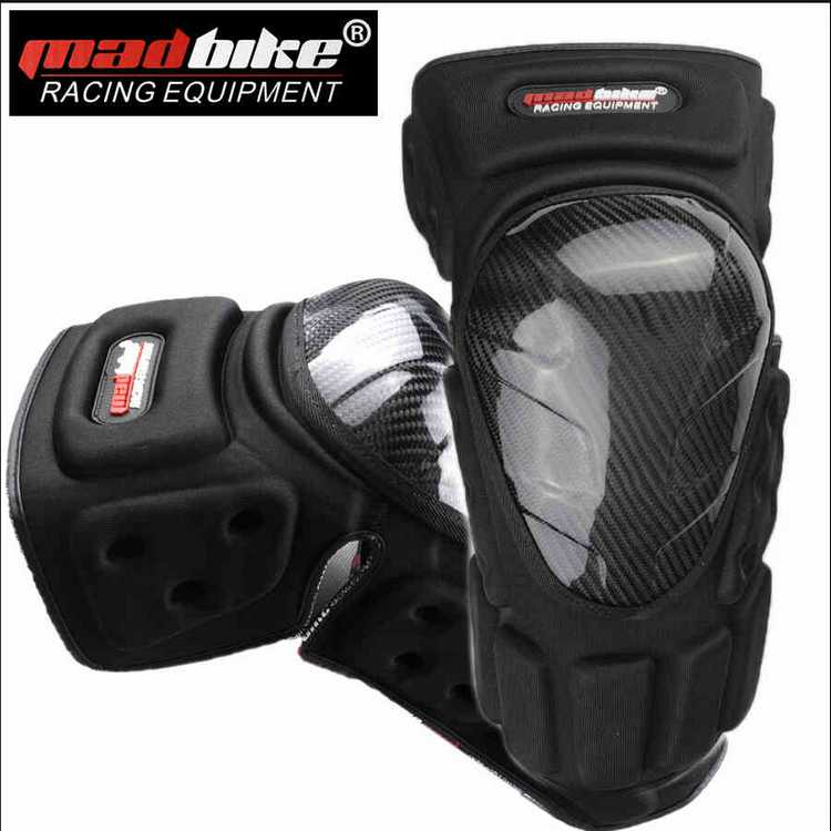 Authentic Carbon Fiber Motorcycle Knee Protector Sport Knee Guard K022(China (Mainland))