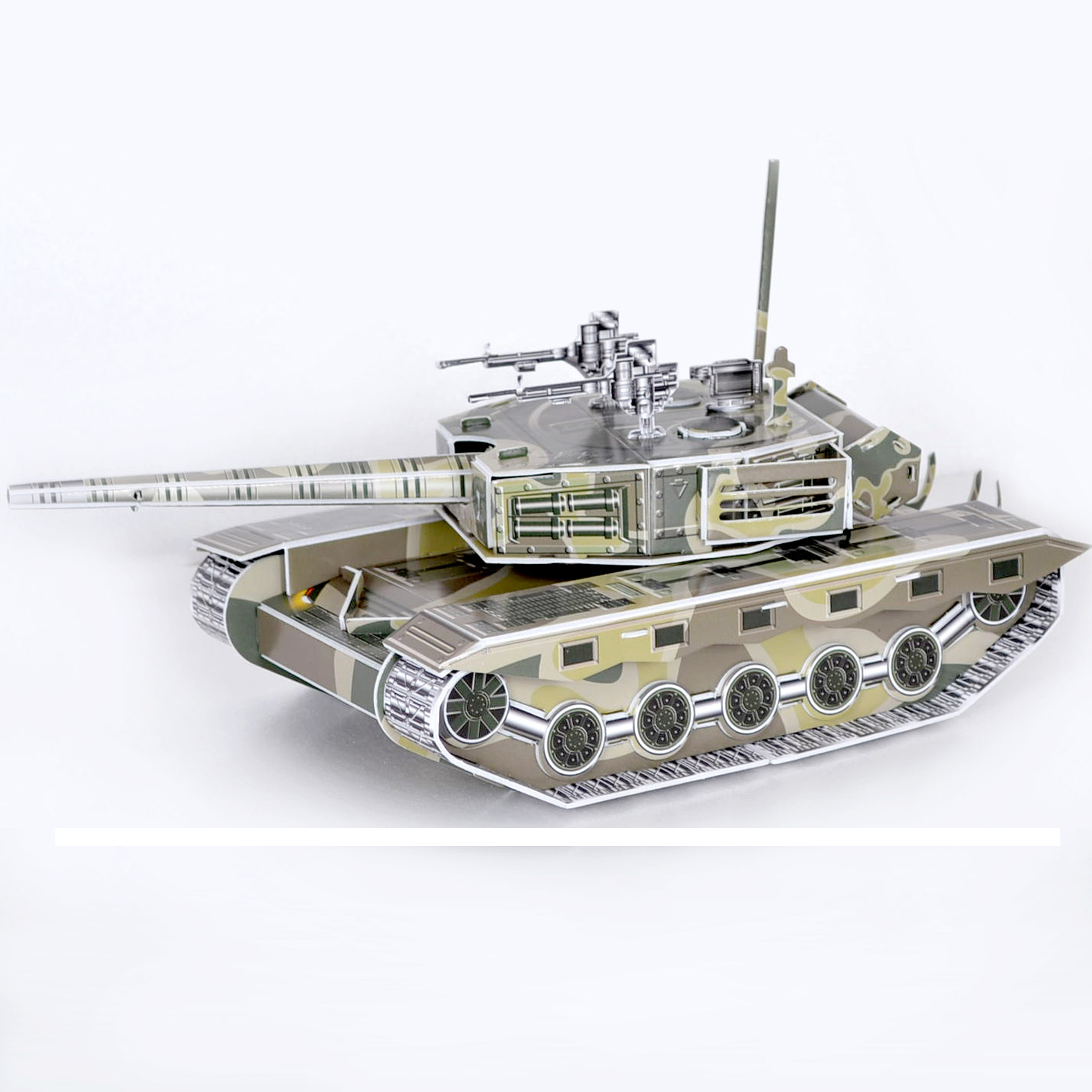 New arrival tank three-dimensional puzzle 3d assembling model armored car educational toys military tank(China (Mainland))