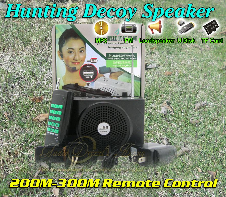 Outdoor Hunting Bird Caller MP3 Player 400M Remote Control Speaker 888 Birds Sound Decoy Device Protable Amplifier Loudspeaker<br><br>Aliexpress