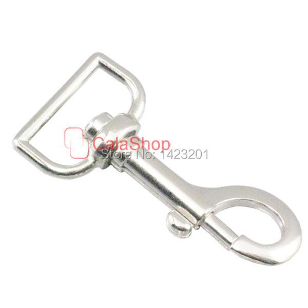 """10 pcs 1"""" 25mm Metal SWIVEL CLIP SNAP Hook TRIGGER Webbing bag lanyard F49(China (Mainland))"""