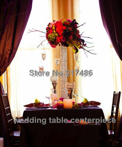 sliver mental (not gold mental) wedding table flower stand center pieces(China (Mainland))