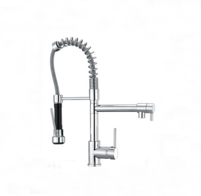 best quality wholesale and retail chrome solid brass kitchen faucet