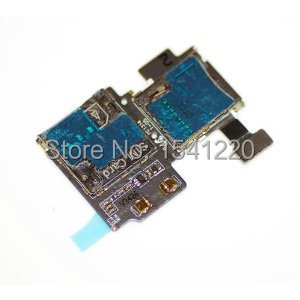 Sim Card Reader Flex Cable For Samsung Galaxy S4 I9505 free shipping(China (Mainland))