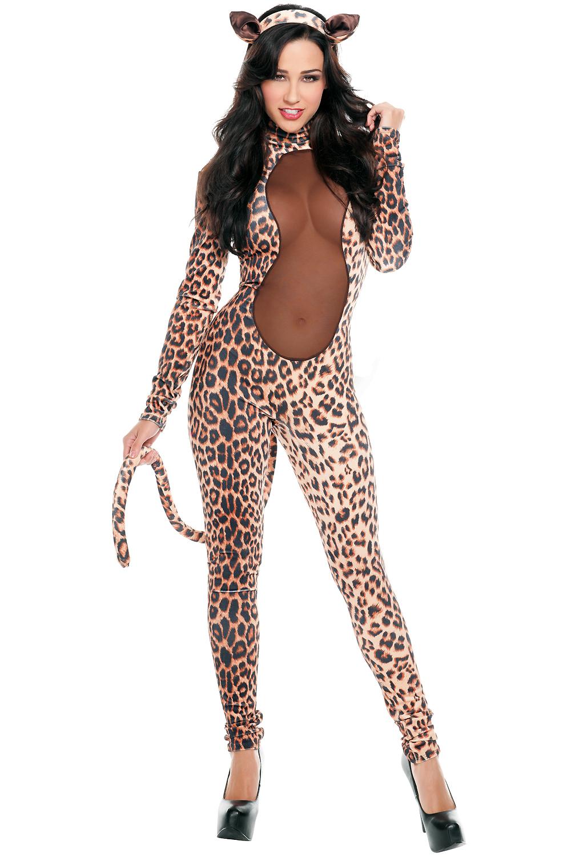 Секс в леопардовом костюме 18 фотография