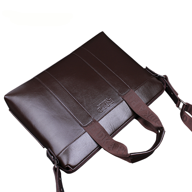 Business Men PU Leather Laptop Tote Bags Man Crossbody Bag Men s Messenger Travel Briefcases Bags