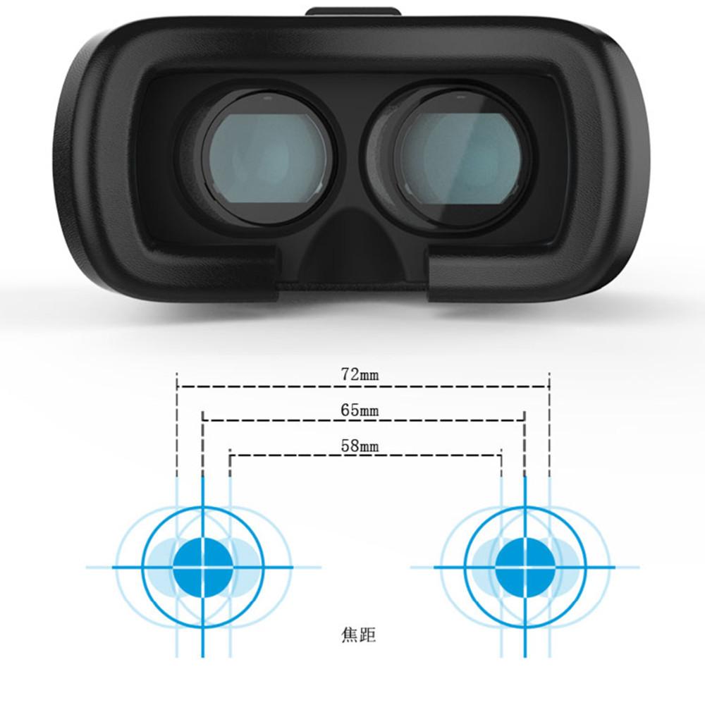 """ถูก VRกล่องgenความจริงเสมือนที่น่าตกใจโลก3Dแว่นตาสำหรับ4.7-6.0 """"โทรศัพท์iPhone 6บวก"""