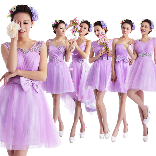 preis auf lilac bridesmaid dress vergleichen online. Black Bedroom Furniture Sets. Home Design Ideas