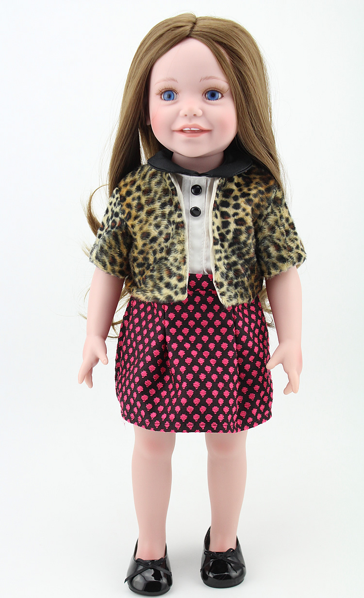 baby dolls american toys real looking girl doll with leopard clothes