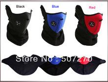 Free shipping Ski Snowboard Bike Motorcycle face mask helmet Neck Warm --- 3 Colours New(China (Mainland))