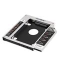 New Aluminum Universal SATA 3 0 2nd HDD Caddy 12 7mm 2 5 Hard Disk Drive