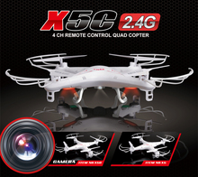 Syma X5C X5C-1 2.4G 6 Axis GYRO HD UFO RC Quadcopter RTF Remote Control Helicopter drone with 2.0MP Camera toys