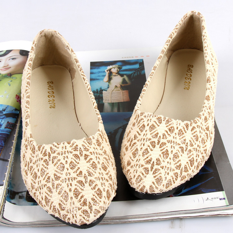 New 2014 all match popular fashion Lace vamp wild flat shoes woman flats,size:4,5,6,7,8,9<br><br>Aliexpress