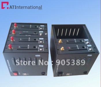 4 портов модема GSM GPRS спутниковый модем Q2406b
