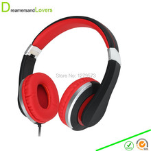 Dreamersandlover F6 Headphone with Microphone for Travel, Work, Running Sport Kids Girls Headphones Headset for Music or Gaming