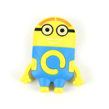 Downloading Music MP3 Player Minions Despicable ME 2 Movie & TV Minion Mini Mp3 Music player 1 PCS Christmas Birthday Gift(China (Mainland))