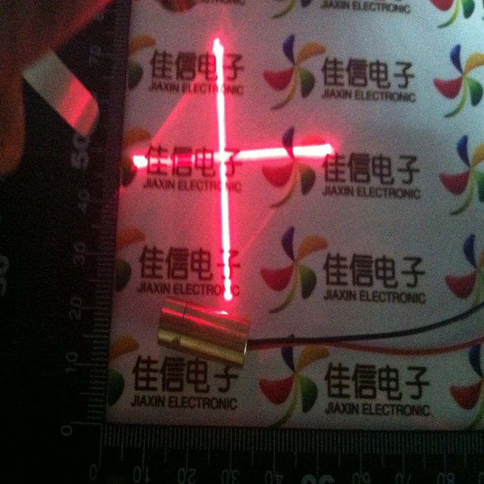 Phi . 9mm cross laser head red laser tube laser diode laser tube(China (Mainland))