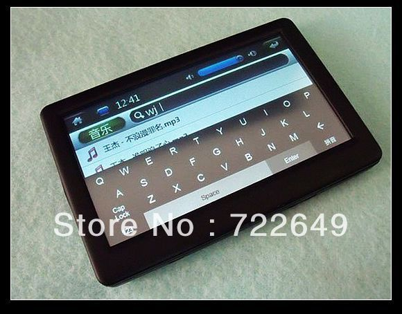 MP5 T13 4.3 inch HD definition touch screen 4GB Mp4 player+TV out+Video+FM radio 5PCS+free DHL shipping(China (Mainland))