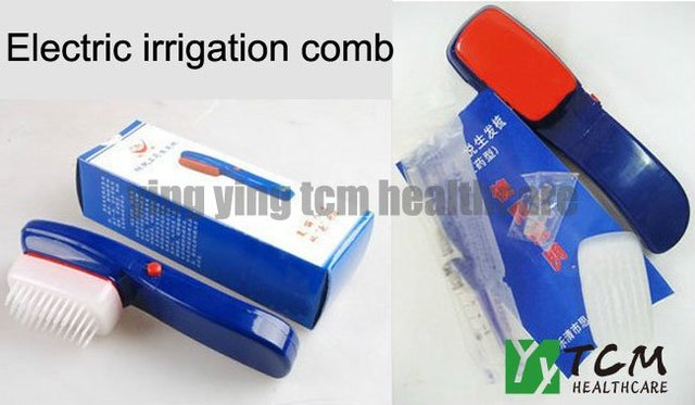 Wholesale and retail anti hair loss apply medicine liquid comb good quality recommend by zhangguang 101
