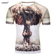 2019 модная летняя футболка с короткими рукавами с 3D принтом Мужская футболка Vertigo гипнотическая красочная печать 3D футболка Бесплатная дост...(China)