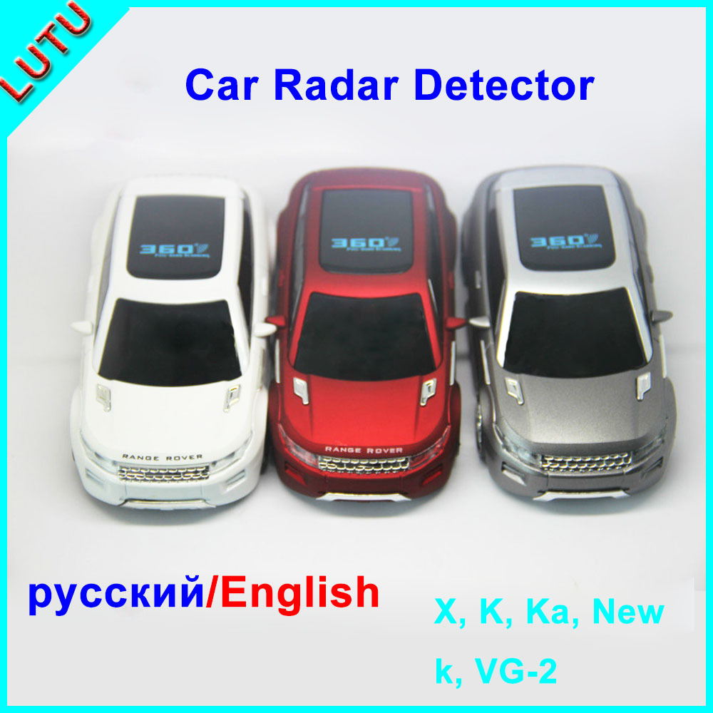 New Radar Detector Voice Warning 3 Color Car Styling Russian English Car Alarm 360 Degrees Vehicle Speed Control Detector