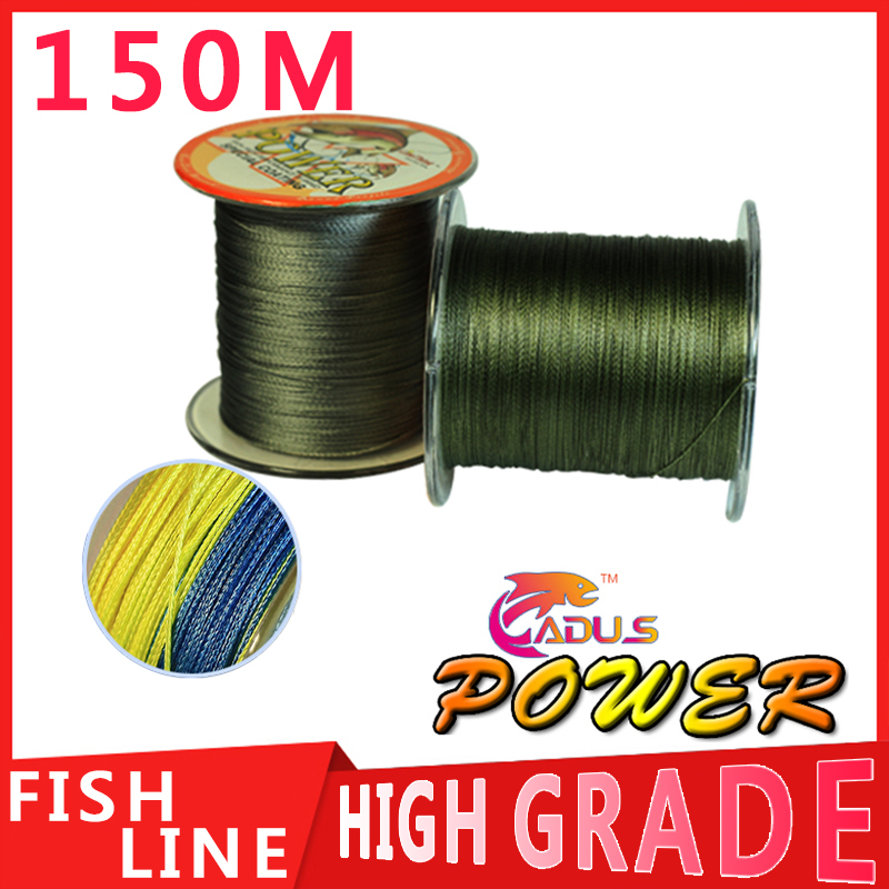 150m power brand extreme strong braid fishing line pe for 30 lb braided fishing line