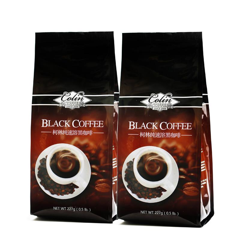 Colin pure instant milk sugar coffee powder 227g 2 bags
