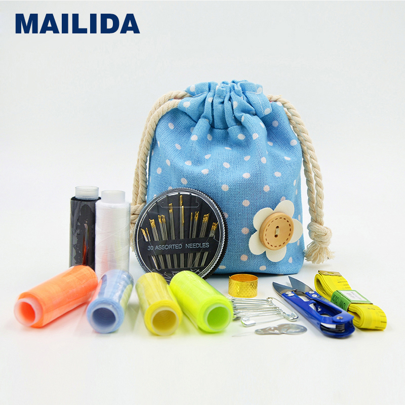 More than $5,free shipping,Lovely Sewing kit bag ,needle&thread box ,tailor's tools(China (Mainland))