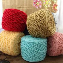 Wholesale,400g/lot Merino Wool Yarn Brand Cotton Knit Thick Yarns for Knitting Super Soft Sewing Crochet Thread Free Needle(China (Mainland))