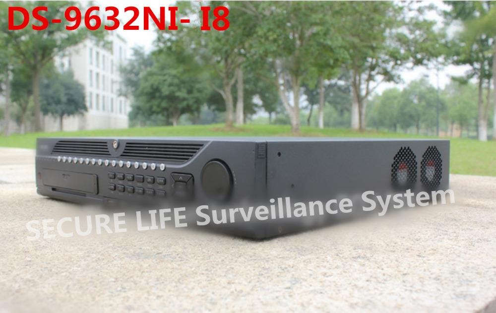 Здесь можно купить  English version DS-9632NI-I8 12MP 4k embedded NVR 32CH 8 SATA ports support RAID H.265  Безопасность и защита