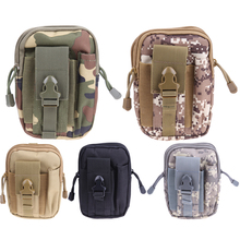 Buy Multifunction Tactical Molle Oxford Waist Belt Bags Wallet Pouch Purse Outdoor Sport tactica Waist Pack EDC Camping Hiking Bag for $3.99 in AliExpress store