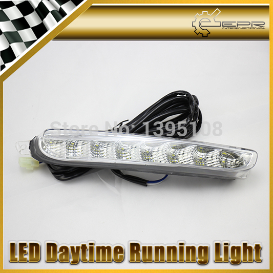 Фотография New Car Styling Auto Lamp For Fiat Viaggio 2013-2014 LED Daytime Running Light DRL Car Accessories
