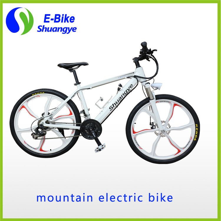 2016 popular style magnesium alloy wheelshidden lithium battery 36V 250w 26inch electric bike(China (Mainland))