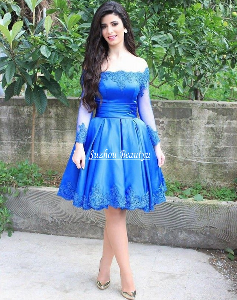 Online Get Cheap Homecoming Dresses Blue Long -Aliexpress.com ...