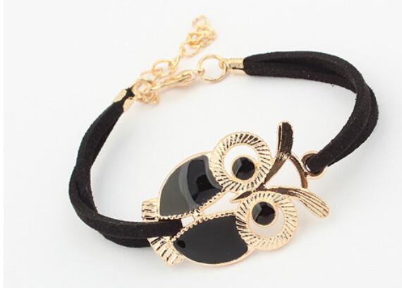 Bs1981 подвески браслет женщины браслет кожаный шнур браслет Jewerly масло окрашенный ...
