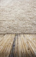 100CM 125CM New 2015 Photography Backdrop Solid Color Wood Floor Brick Wall Wedding Baby Prop Photo