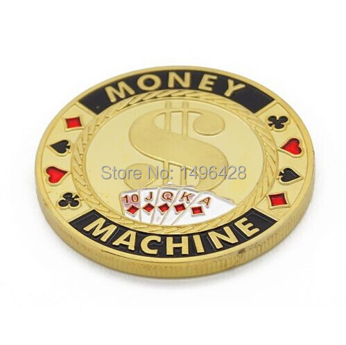 Personalized poker chip card guard