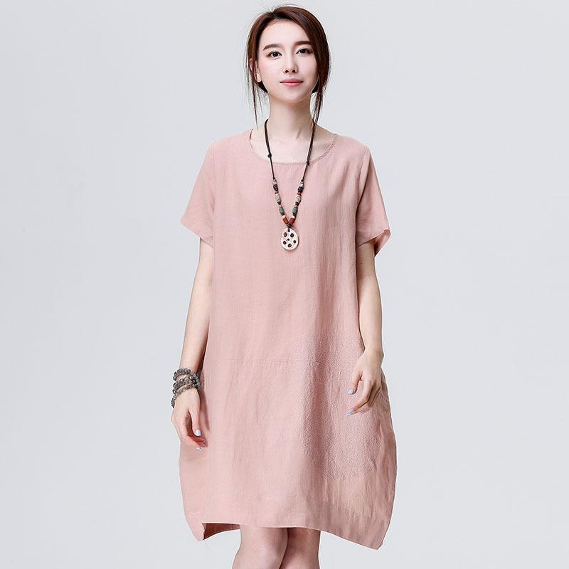 Aliexpress.com : Buy Summer Literature Art Womens Cocoon Dress ...