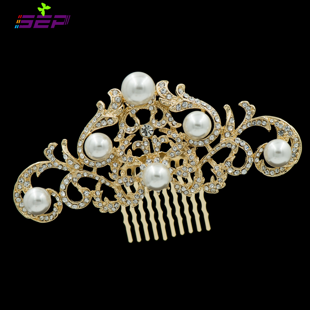 Rhinestone Women Hair Comb Crystals Hairpins Bridal Wedding Hair Jewelry Accessories FA2937(China (Mainland))