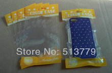 10x18cm Double clear Plastic zipper Retail Packaging Poly bag for cell phone case for iPhone 4 5 Samsung cover package bag(China (Mainland))