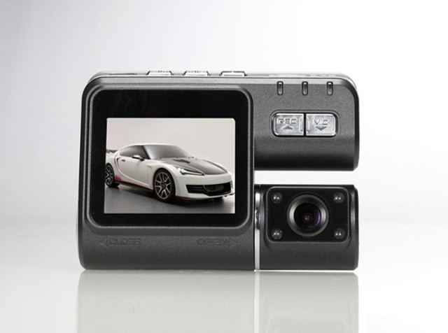 The new type double camera recorder I1000 Automobile Black Box HD