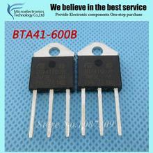 10pcs free shipping BTA41-600B BTA41600B BTA41 BTA41-600B  Triacs 40 Amp 600 Volt  TO-3P new original(China (Mainland))